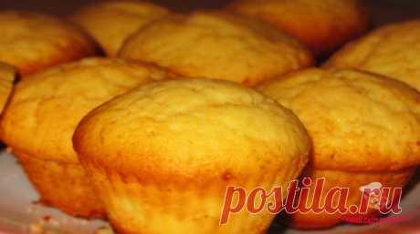 """Лимонные кексы в духовке """"Вкуснотище"""" - сайт кулинарии"""
