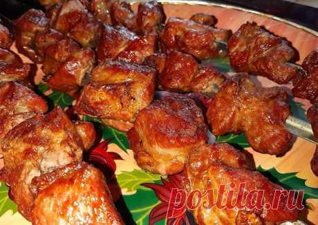Шашлык на кефире - пошаговый рецепт с фото. Автор рецепта Кулинарные рецепты от SV . - Cookpad