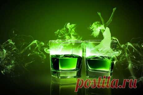 Что такое абсент: Зелёная фея или Зелёная ведьма? Абсент считается одним из самых крепких напитков, содержания алкоголя в нём доходит до 85 %.  В связи с наличием в нём экстракта горькой полыни (туйона), многие считают, что абсент обладает галлюциногенными свойствами. Так ли это на самом деле? …