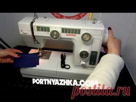 La revista de la máquina de coser Janome L-394\/Janome LE 22