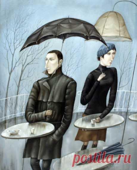 Картинки из жизни художника Анжела Джерих (24 работ)