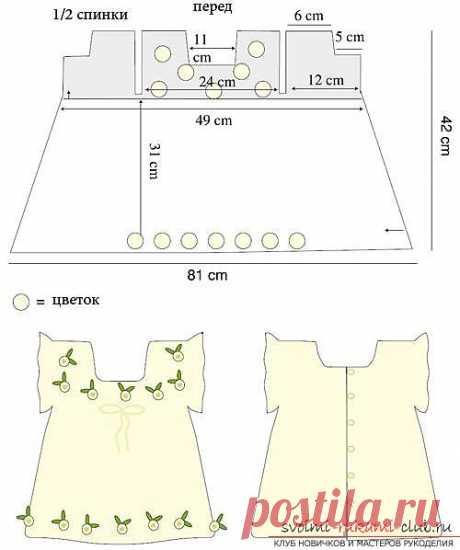 Как связать крючком платье для девочки, схемы, выкройки, описание вязания и фото двух платьев
