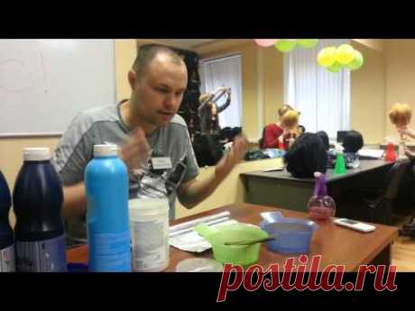 Миф про окрашивание волос  1 часть