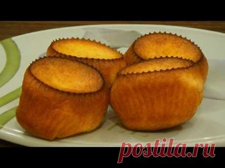 Popovers - the jumping-out rolls. Alternative to choux pastry.