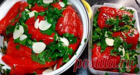 Самый вкусный маринованный красный перец - Лучший сайт кулинари