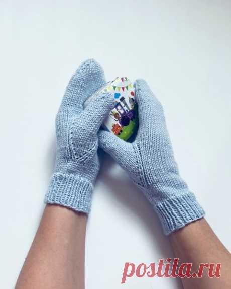 Как вязать палец на варежке – интересный способ (Вязание спицами) – Журнал Вдохновение Рукодельницы