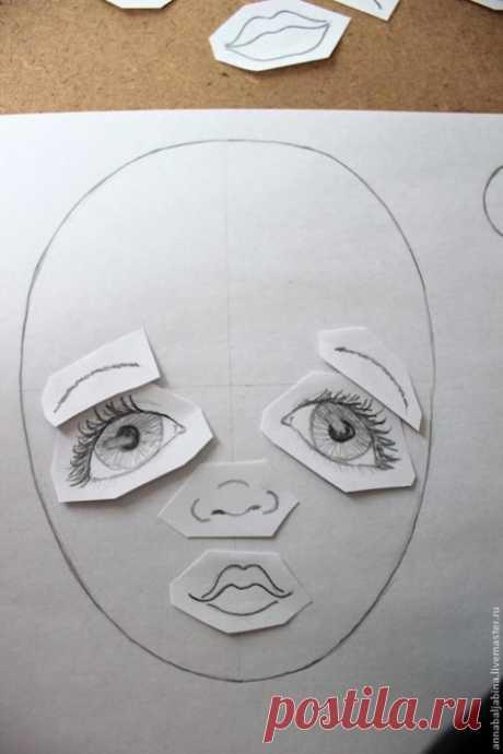 Лицо текстильной куклы: как найти свой стиль
