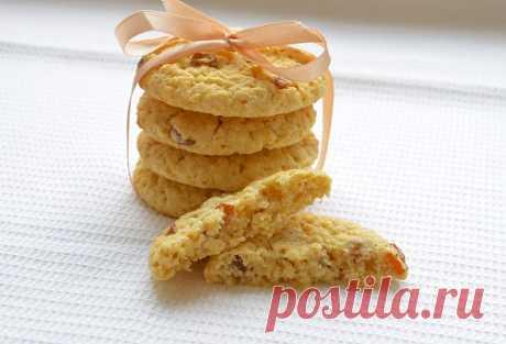 Мягкое овсяное печенье: рецепт
