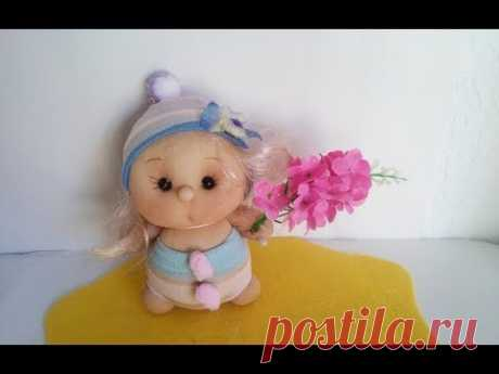 Кукла из капрона. Мастер-класс Tetyana Shchepkina