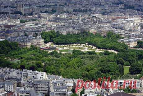 Жемчужины архитектуры Парижа:Часть 1(2).Люксембургские дворец и сад