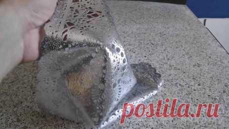 Идея для декора из силиконовой скатерти и туалетной бумаги В данном обзоре автор показывает, как с помощью обычной силиконовой скатерти и туалетной бумаги можно получить очень красивый и объемный орнамент на стене