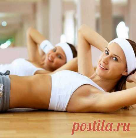 Пилатес: 4 упражнения = идеальный пресс за 10 минут в день! | Диеты со всего света