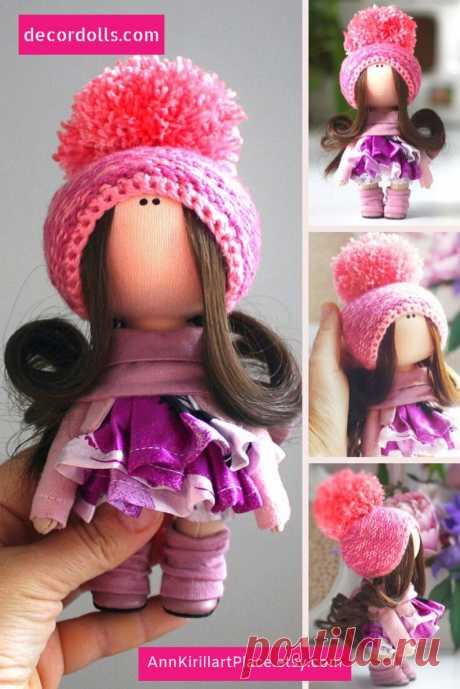 Textile Doll Handmade Christmas Puppen Doll Muñecas Soft   Etsy