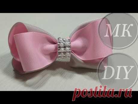 Бантики, МК 🎀 DIY 🎀 Pap 🎀 Tutorial 🎀 Laço lindo - YouTube