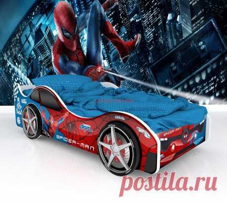 Кровать-машинка Бостон: купить в Минске недорого, низкие цены, скидки, рассрочка