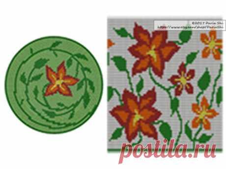 PATTERN:Nature Set of Wayuu Mochila Patterns Mochila Bag