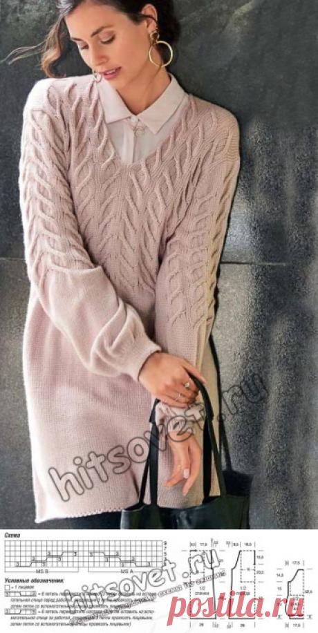 Модная туника 2018 - Хитсовет