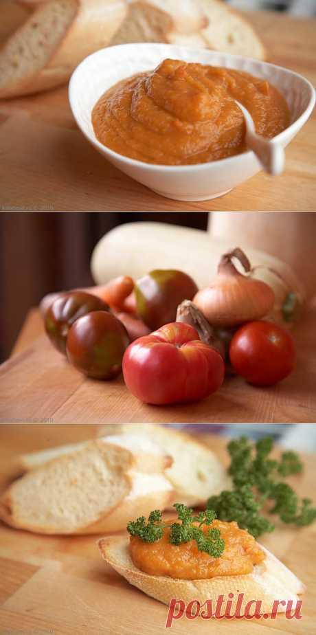 Икра кабачковая. Самый простой рецепт. Кабачки, лук, морковь и помидоры - все!