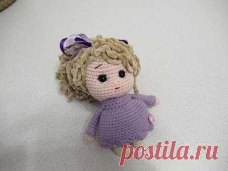 Мастер-класс куколка амигуруми - Амигуруми Видео