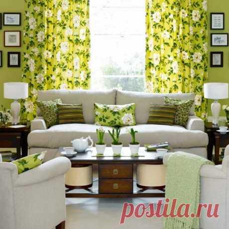 О чем расскажет цвет в интерьере гостиной?