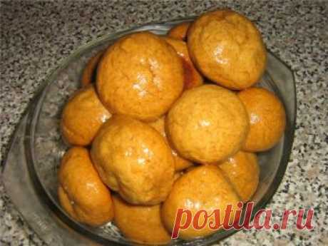 Сахарно-медовые пряники (постные) : Вегетарианская и постная кухня