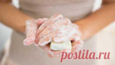 Живут ли микробы на мыле? Есть ли смысл мыть руки?