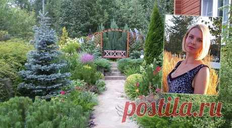 Сады России: подмосковный сад Натальи Исаенковой
