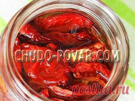 ВЯЛЕНЫЕ ПОМИДОРЫ. Рецепт вяленых томатов в домашних условиях с фото