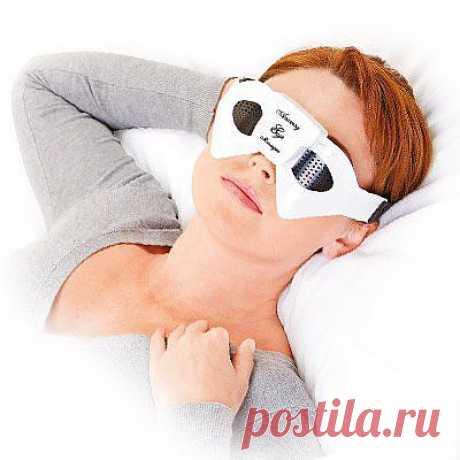 Очки-массажер для глаз - 499 руб.