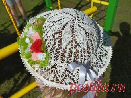 Связала для внучки шляпку на воздушном шарике   Рекомендательная система Пульс Mail.ru