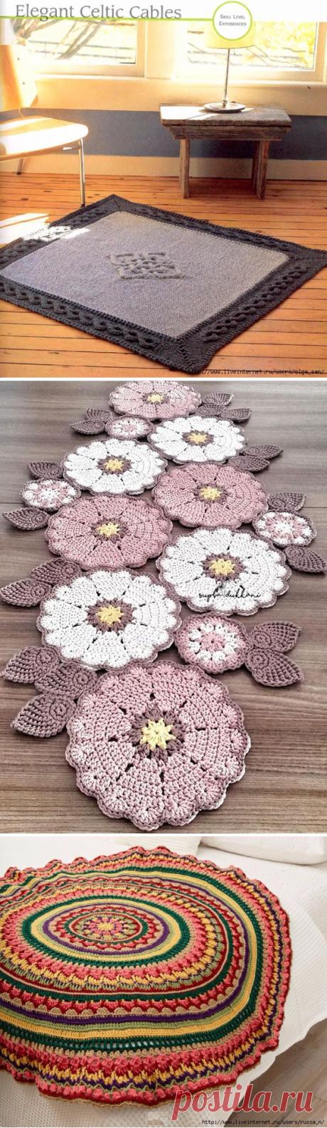 Вязание (ковры) | Записи в рубрике Вязание (ковры) | Дневник kusschen