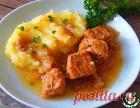 Мясо в луковом соусе – кулинарный рецепт