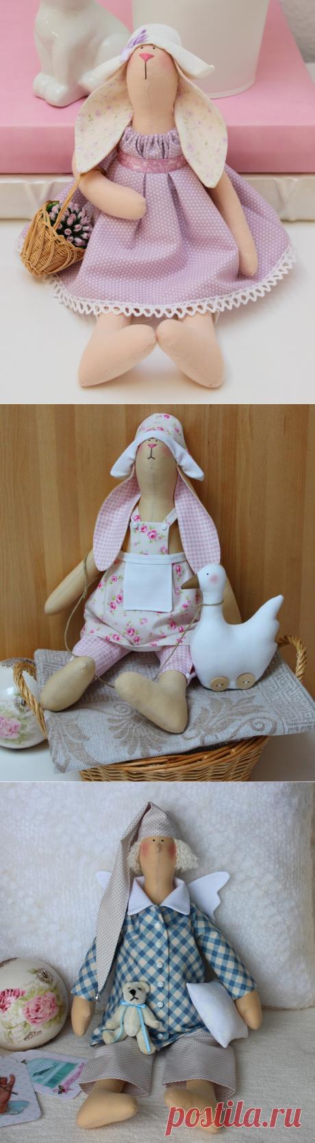 и игрушки Тильды немецкой мастерицы Julia Schilles