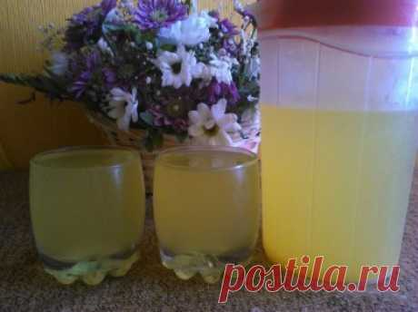 Цитрусовый напиток из замороженного апельсина : Напитки безалкогольные