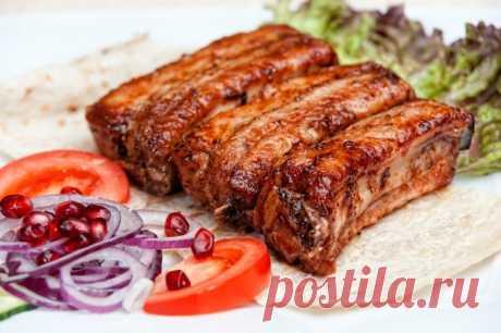 Шашлык из свиных ребрышек — Sloosh – кулинарные рецепты