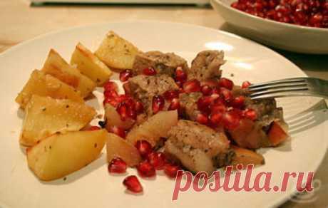 Маринад с гранатовым соусом - Здоровое питание