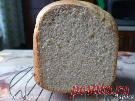 Печем в хлебопечке. Хлеб с укропом.