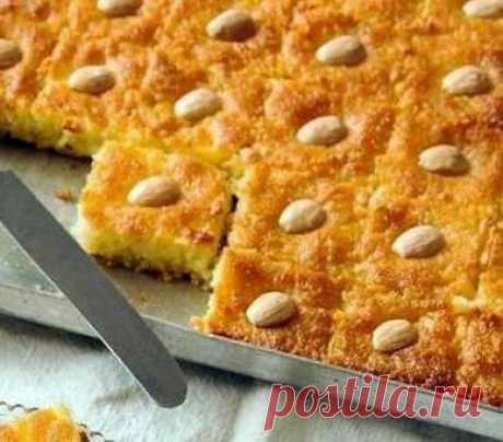 Басбуса: простой рецепт вкусного десерта   Вперед✔огород   Яндекс Дзен