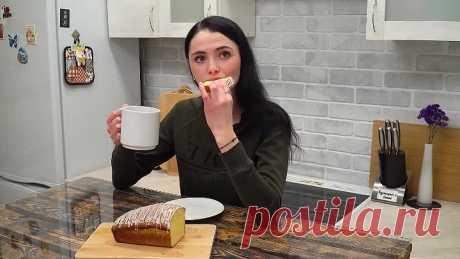 Без масла! Очень мягкий и пышный кекс к чаю за 5 мин