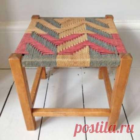 Современное ткачество: стильные идеи для перетяжки мебели