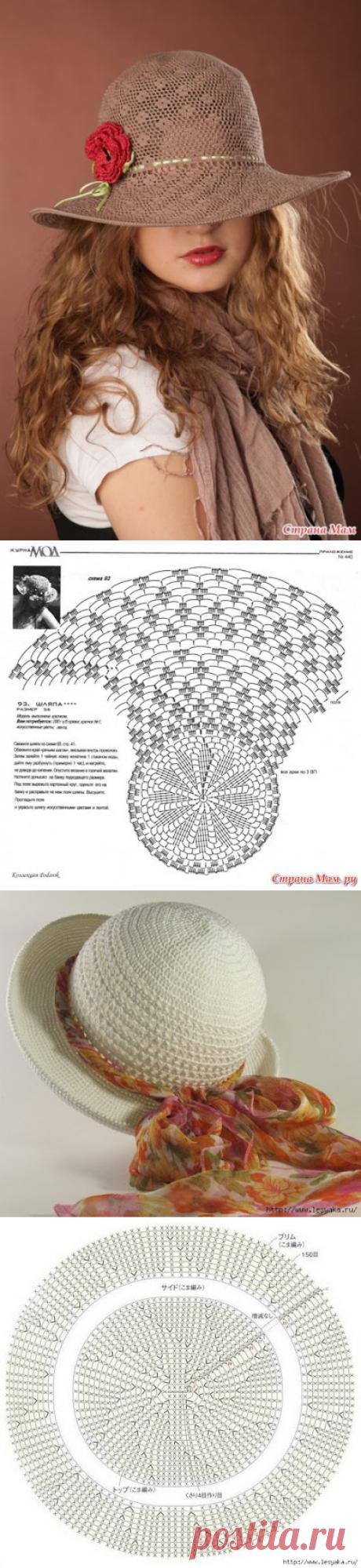 Delicadezas en crochet Gabriela: Sombreros