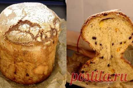Панеттоне по рецепту итальянки – пошаговый рецепт с фотографиями