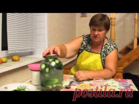 Unusual way of salting of cucumbers. Salting of cucumbers. Recipe of pickles.