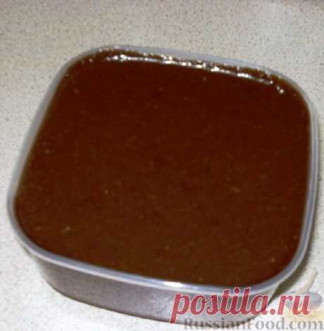 La receta: la pasta De chocolate en RussianFood.com