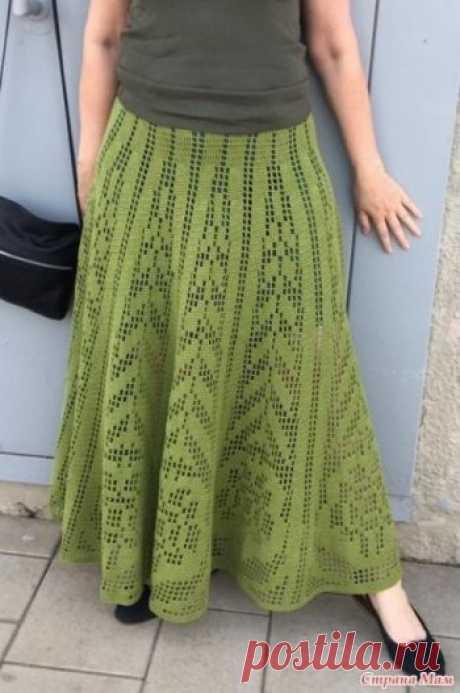 Летняя юбка для женщин крючком Юбочка связана из пряжи Семеновская KABLE 100 гр/430 м, крючок №2.5 на 44-46 размер и рост 166 см. Понадобилось 800 гр. Схему прилагаю. Но, в зависимости от