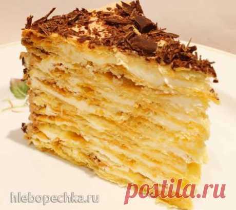 """Торт """"Наполеон"""" (по семейному рецепту) - ХЛЕБОПЕЧКА.РУ - рецепты, отзывы, инструкции"""