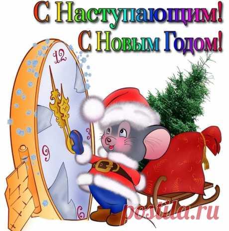 Поздравляю вас, народ, Наступает Крысы год, Как она, вы будьте ловки, Избегайте мышеловки.  Показать полностью…