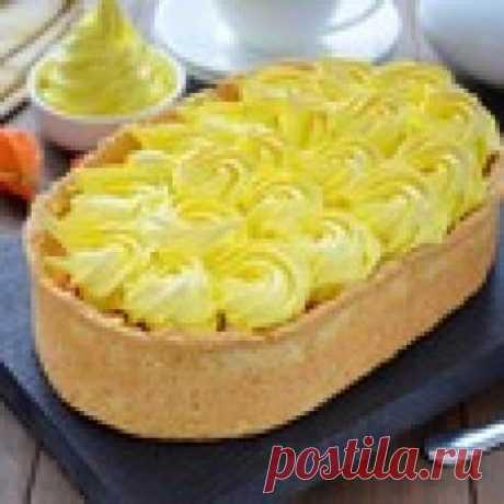 Тыквенный пирог с безе Кулинарный рецепт