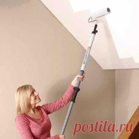 Пошаговый план покраски потолка, с которым справится даже новичок — Строительство и отделка — полезные советы от специалистов