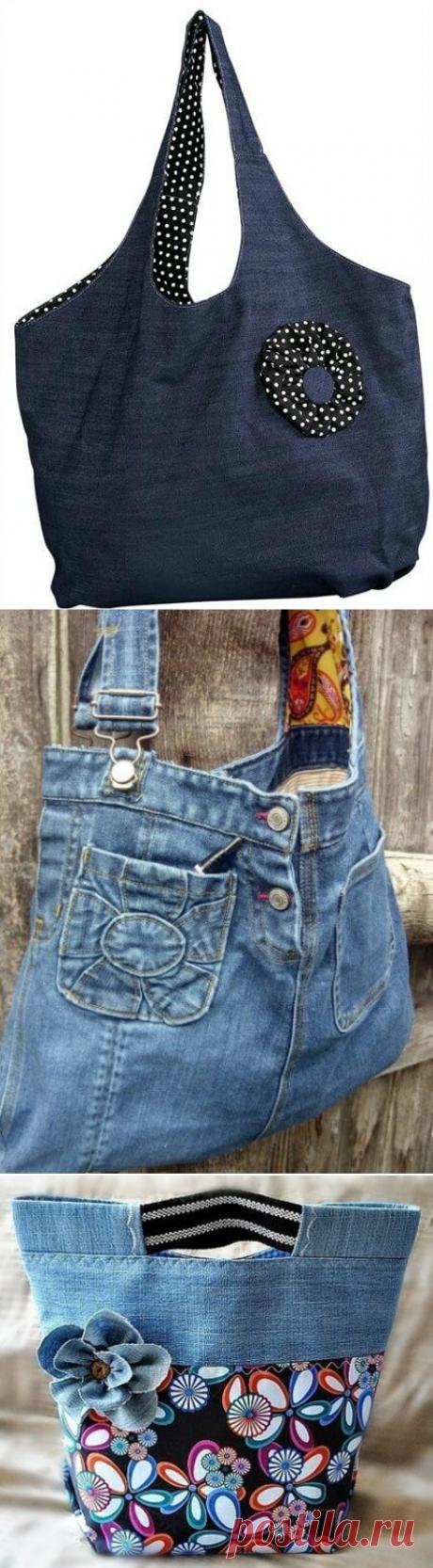 Сумки из старых джинсов. 122 идеи для вдохновения!   Страница 4 из 7   В темпі життя